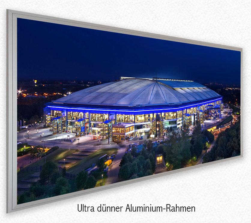 led bild fussballstadion arena gelsenkirchen deco art shop. Black Bedroom Furniture Sets. Home Design Ideas