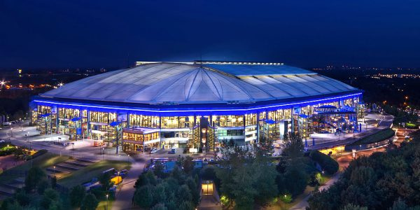 LED Bild Stadion Gelsenkirchen
