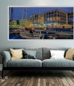 LED Bild Harbour Phönixsee