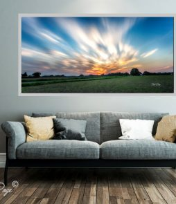LED Bild Motiv Sunset