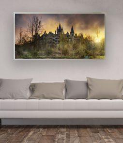 LED Bild Motiv Lost Castle
