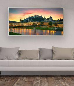 LED Bild Motiv Salzburg Sunrise