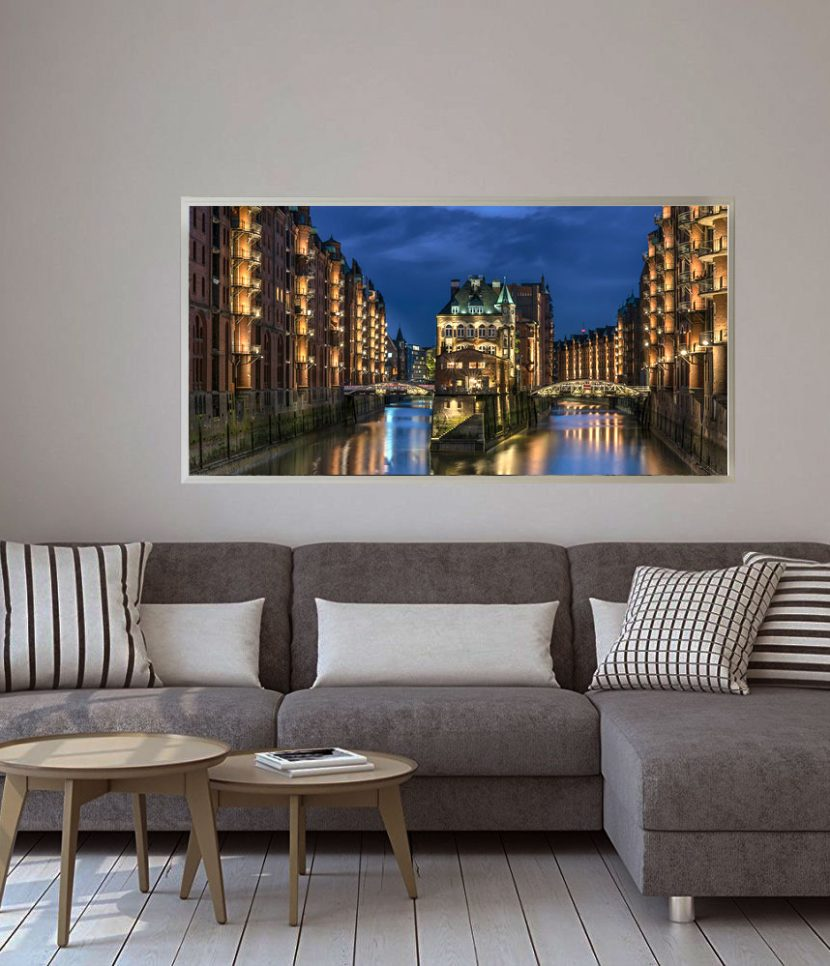 led bild hamburg speicherstadt deco art shop. Black Bedroom Furniture Sets. Home Design Ideas