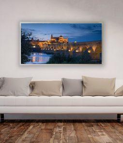 LED Bild Motiv Cordoba Bridge
