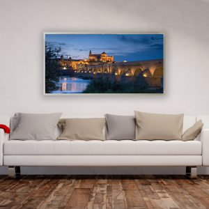 LED Bild Motiv Cordoba Bridge