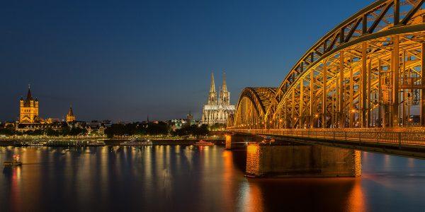 Motiv Köln Rheinufer