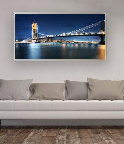 LED Bild Manhattan Bridge