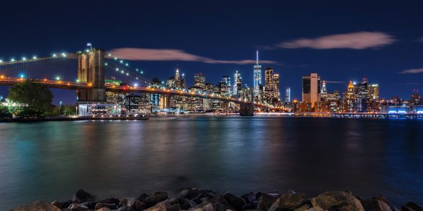 LED Bild Motiv NYC