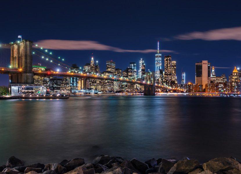 New York Leinwandbild ~ Led bild nyc skyline exclusive bilder im deco art shop