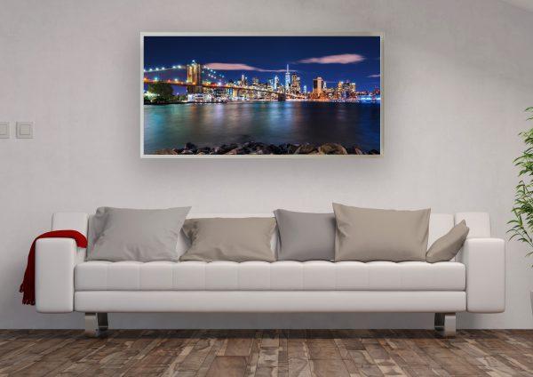 LED Bild NYC Skyline