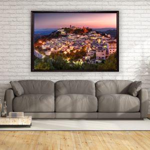 Leinwandbild Casares Andalusien