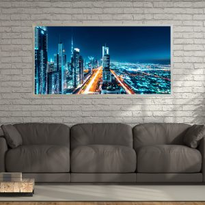 LED Bild Dubai Mainroad