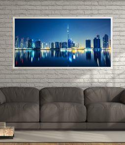 LED Bild Dubai Skyline