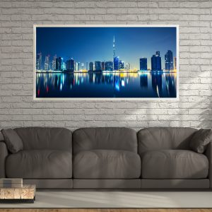 LED Bild Dubai Skyline