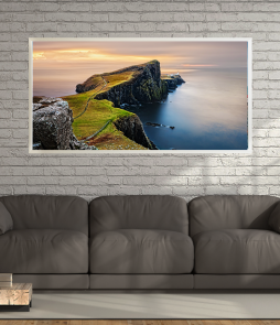 LED Bild Highlands Cliff