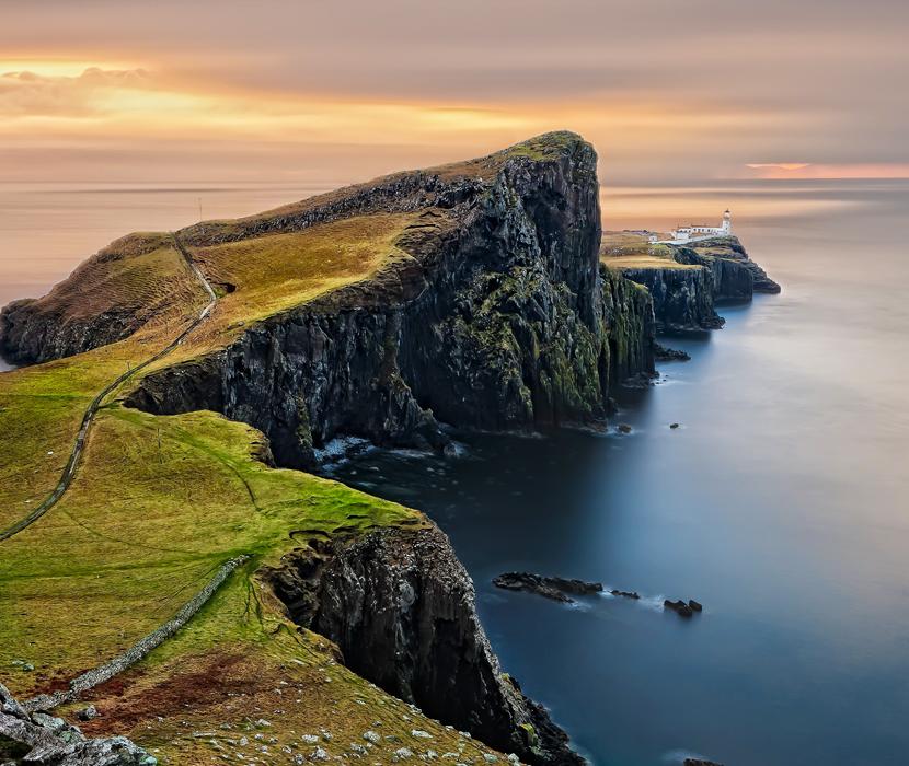 LED Bild Highlands Cliff
