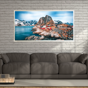 LED Bild Lofoten Indian Summer