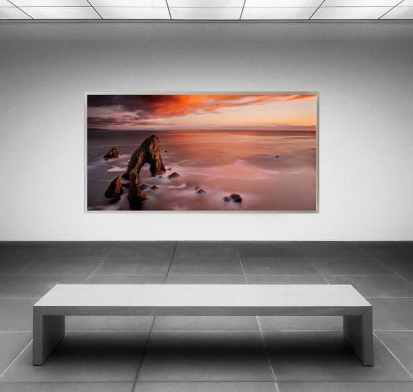 LED Bild Cliff Irrland