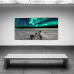 LED Bild Aurora Lights Norwegen