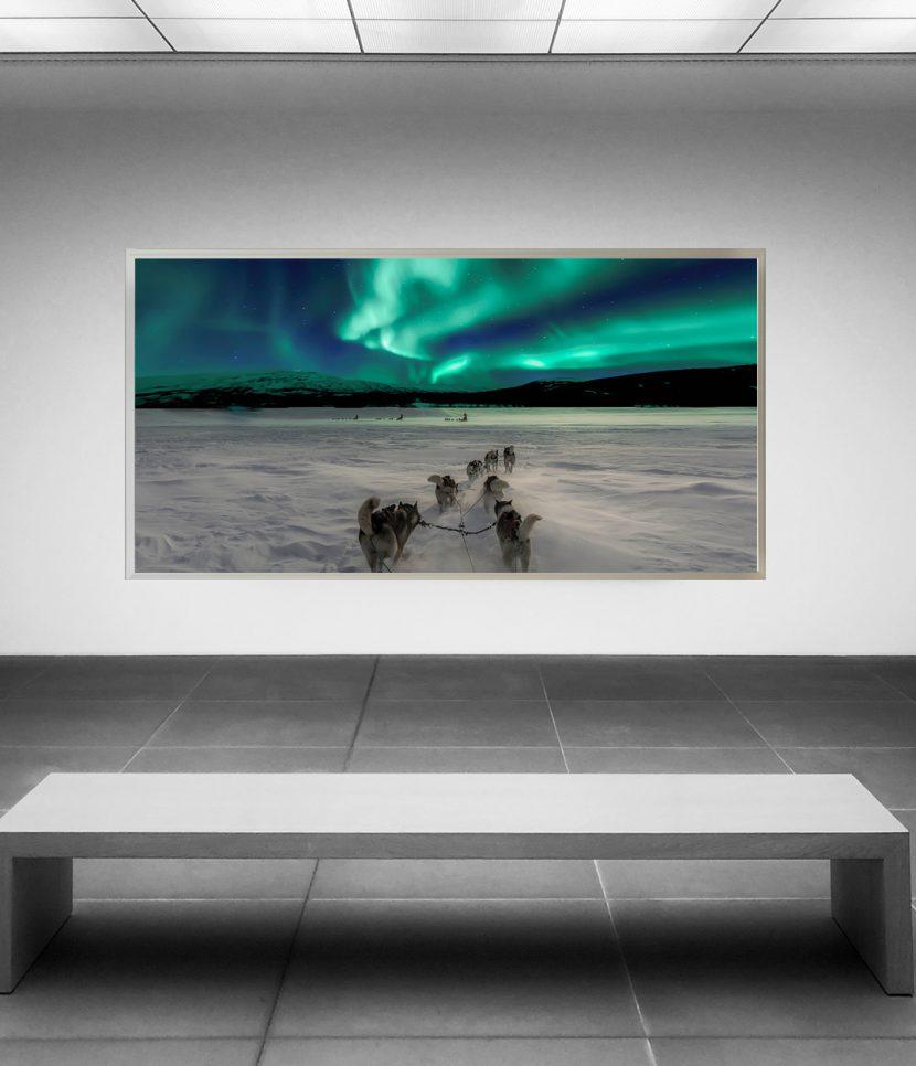 LED Bild Aurora Lights Norwegen