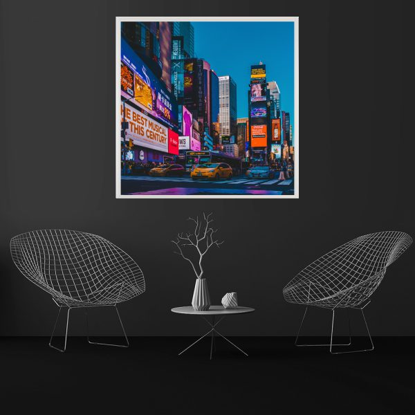 LED Bild Mew York Streets
