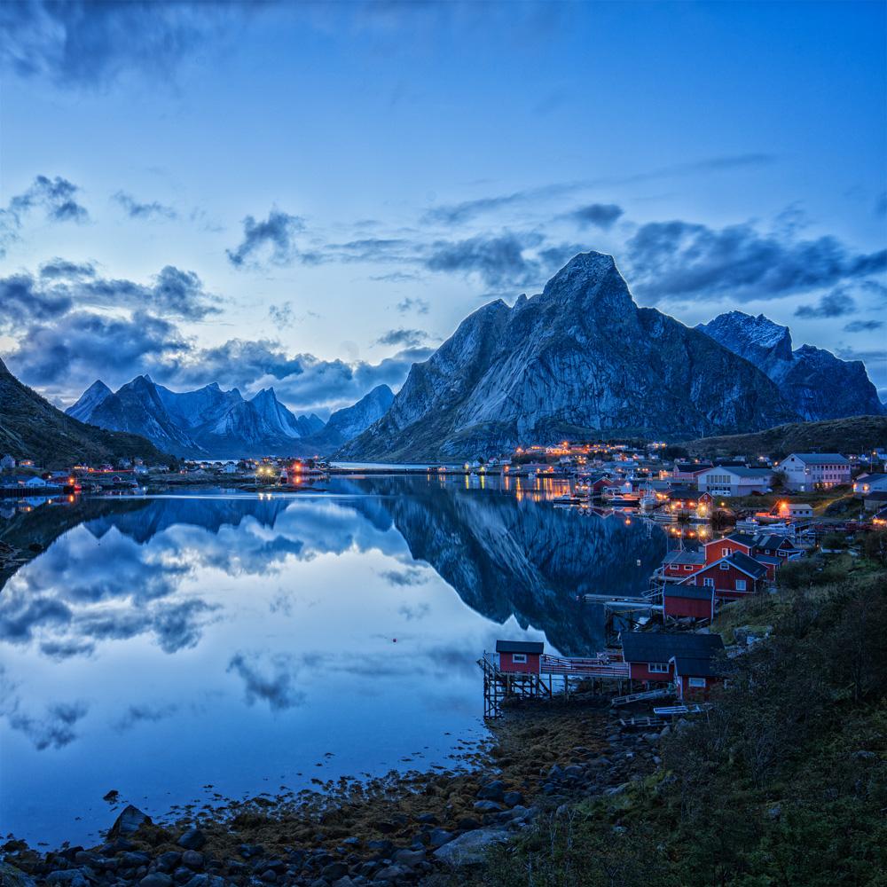 LED Bilder Norwegen