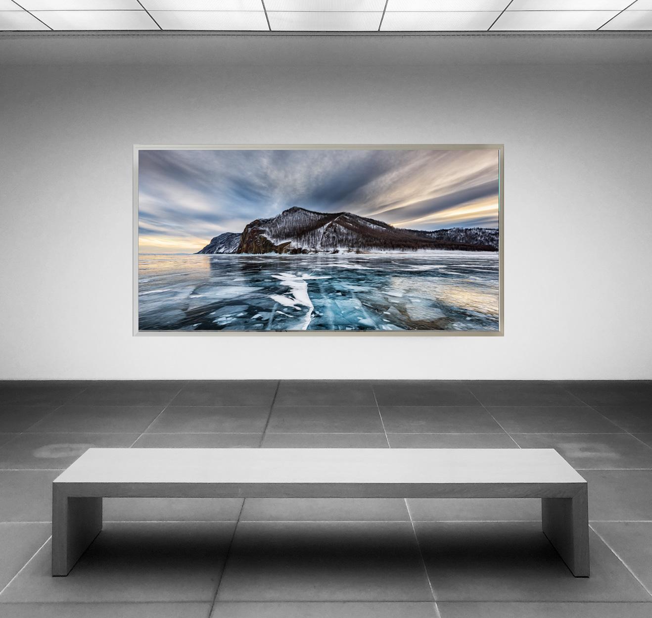 LED Bild Grey Mountain
