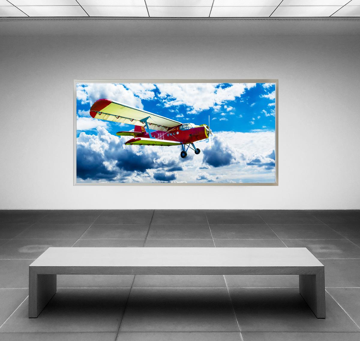 LED Bild Antonov Doppeldecker