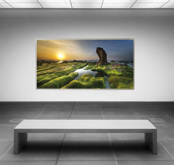 LED Bild China Sunrise
