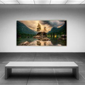 LED Bild Hintersee Berchtesgaden