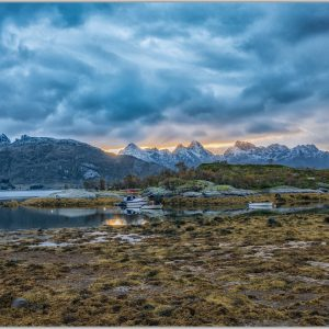 LED Bild Norwegen Hammerstad