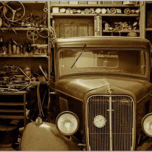LED Bild Ford Garage