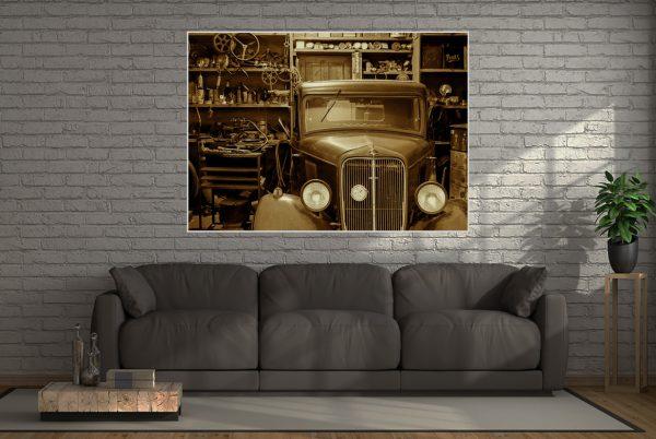 Oldtimer LED Bild