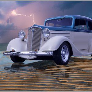 LED Bild Hot Rod Custom Car
