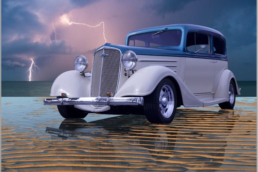 LED Bild Hot Rod Custom Car