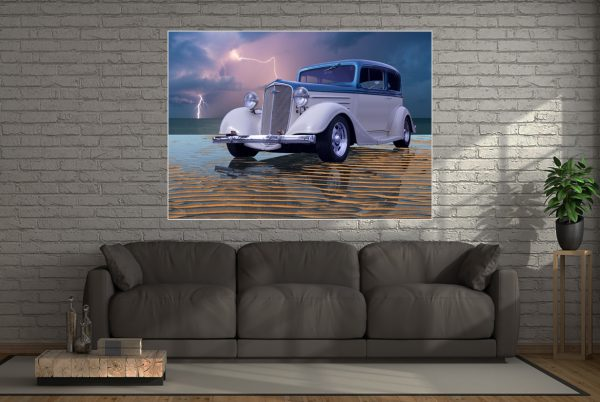Hotrod Wall Art