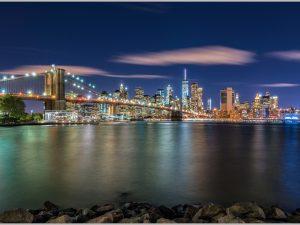 LED Bild NYC Skyline New York