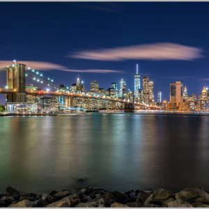 LED Bild NYC Skyline New York