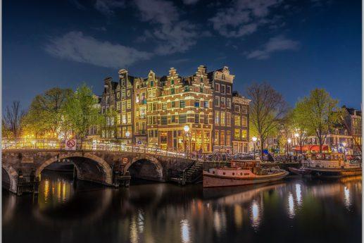 LED Bild Amsterdam