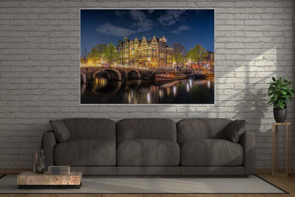 Leuchtbild Amsterdam