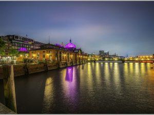 LED Bild Fischmarkt Hamburg