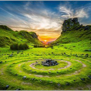 LED Bild Isle of Skye