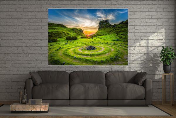 Leuchtbild Motiv Skye
