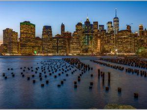 LED Bild New York City