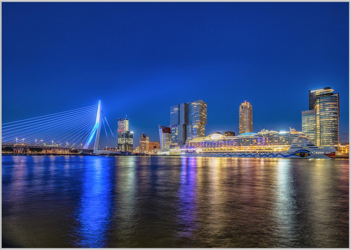 LED Bild Port Rotterdam