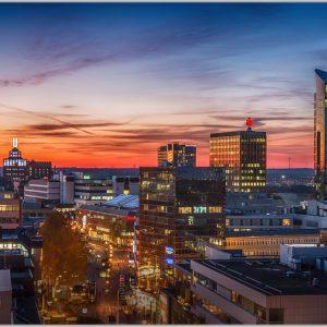 LED Bild Dortmund City