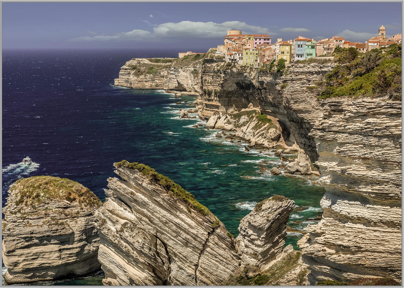 LED Bild Korsika