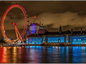 LED Bild London Eye