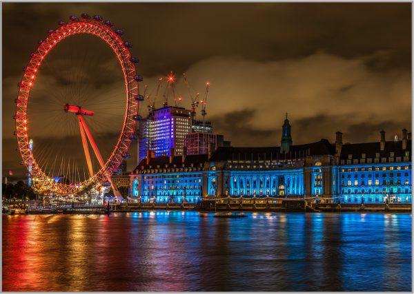 LED Bild London Eye