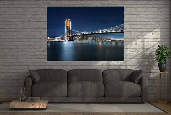 New York LED Bild